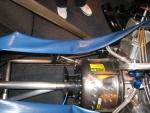 Top fuel drivetrain
