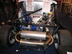 Tube chassis rear engined Mini.