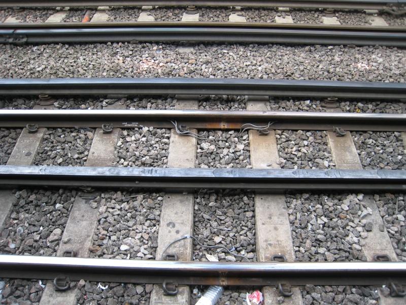 Welded railroad