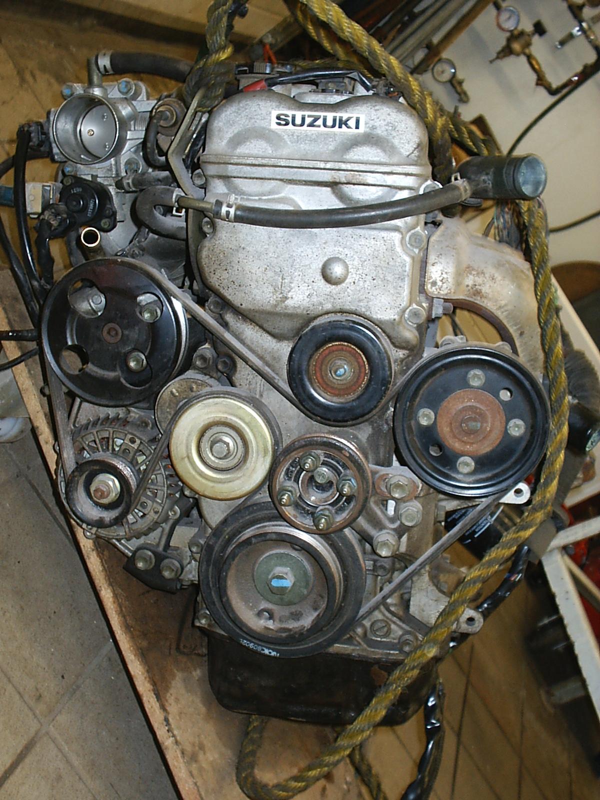 Suzuki Grand Vitara Water Pump Replacement
