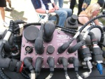 Junction box on WRC engine